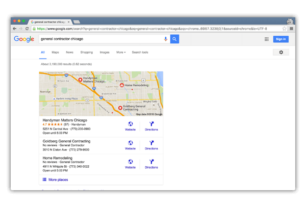 Blutxt Local SEO Map